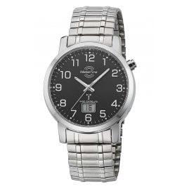 Master Time MTGA-10308-22M Herren-Funkuhr mit Zugband