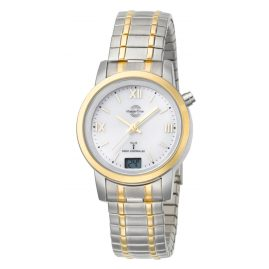 Master Time MTLA-10311-13M RC Ladies Watch Two-Colour with Elastic Bracelet