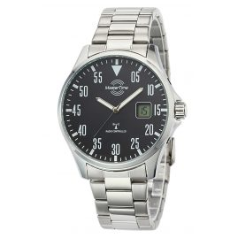 Master Time MTGA-10687-11M Radio-Controlled Watch for Men Basic Steel Bracelet
