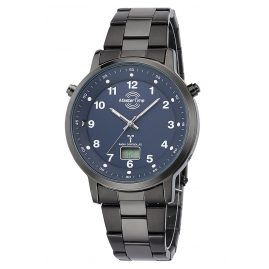 Master Time MTGA-10698-23M Herren-Armbanduhr Funk Specialist mit Stahlband