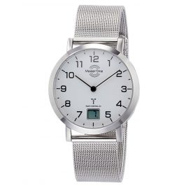 Master Time MTLS-10659-90M Ladies' Radio-Controlled Watch Advanced Mesh Bracelet