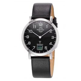 Master Time MTLS-10661-92L Women's Radio-Controlled Watch Advanced Leather Strap