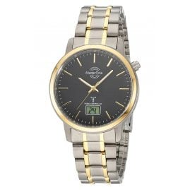 Master Time MTGT-10753-21M Radio-Controlled Watch for Men Titanium Two-Colour