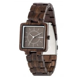 Laimer 0056 Ladies Wood Watch Isabel