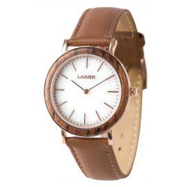 Laimer 0074 Damen Holz-Armbanduhr Laila