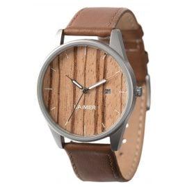 Laimer 0078 Holz-Armbanduhr Noa