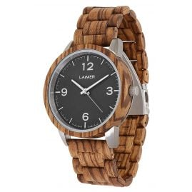 Laimer 0087 Wooden Men's Watch Elia
