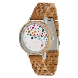 Laimer 0109 Ladies' Wood Watch Capri