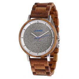 Laimer 0143 Men's Wood Watch Ludwig