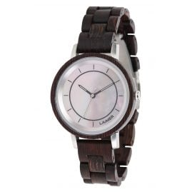 Laimer 0144 Ladies' Wood Watch Karolin