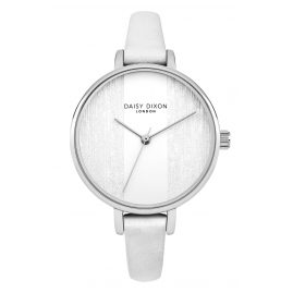 Daisy Dixon DD045WS Ladies Watch Simone White/Silver