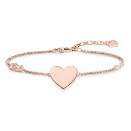 Thomas Sabo A1486-416-14 Damen-Armband Herz mit Infinity