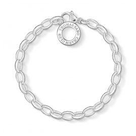 Thomas Sabo X0032-001-12 Silber-Armband für Charms