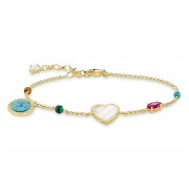 Thomas Sabo A1764-490-7 Damenarmband Riviera Colours