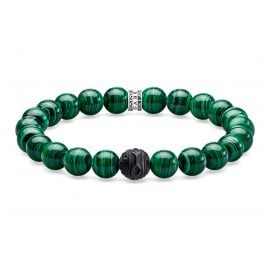 Thomas Sabo A1778-530-6 Bracelet Black Cat Green
