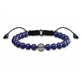 Thomas Sabo A1779-535-1-L22v Unisex-Armband Ethno Blau