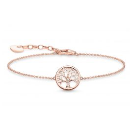 Thomas Sabo A1828-416-14-L19v Ladies´ Bracelet Tree of Love Rose