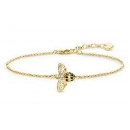 Thomas Sabo A1865-414-7-L19v Damen-Armband Biene