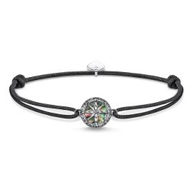Thomas Sabo LS085-907-11-L22v Unisex-Armband Little Secret Kompass Abalone-Perlmut