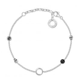 Thomas Sabo X0275-641-11-L19v Ladies´ Bracelet for Charms Skull