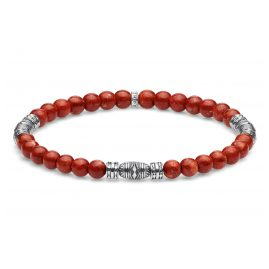 Thomas Sabo A1927-062-10 Bead Bracelet Lucky Charm Red