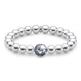Thomas Sabo A1870-637-21-L18 Unisex Armband Weltkugel Silber