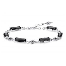 Thomas Sabo A1912-641-11-L-19V Bracelet Black Stones with Stars