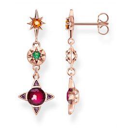 Thomas Sabo H2078-321-7 Damen-Ohrringe Farbige Glückssymbole