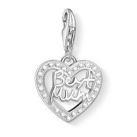 Thomas Sabo 1309-051-14 Charm-Anhänger Herz Best Mum