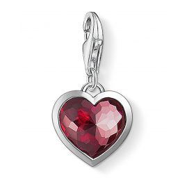 Thomas Sabo 1305-012-10 Charm-Anhänger Rotes Herz