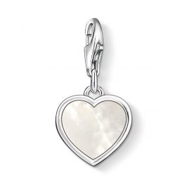 Thomas Sabo 0920-029-14 Charm Pendant Mother-of-Pearl Heart