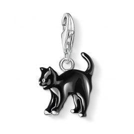 Thomas Sabo 0701-007-11 Charm-Anhänger Schwarze Katze