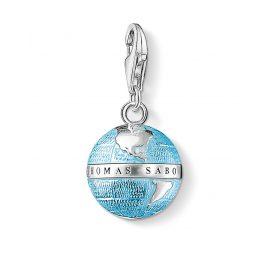 Thomas Sabo 0754-007-1 Charm-Anhänger Weltkugel