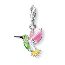 Thomas Sabo 0655-007-7 Charm-Anhänger Bunter Kolibri