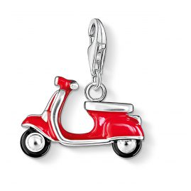 Thomas Sabo 0827-007-10 Charm Pendant Red Scooter