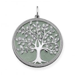 Thomas Sabo PE760-909-6 Pendant Green Tree of Love