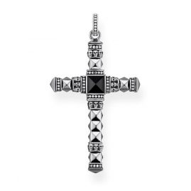 Thomas Sabo PE774-698-11 Pendant Ethno Cross Black Small