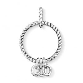 Thomas Sabo X0246-637-21 Carrier for Charms Blackened