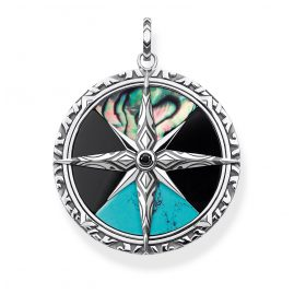 Thomas Sabo PE834-979-7 Pendant Compass large