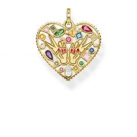 Thomas Sabo PE842-996-7 Pendant Love & Peace
