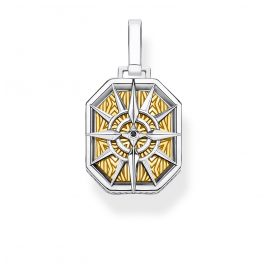 Thomas Sabo PE867-849-7 Pendant Compass gold-coloured