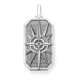 Thomas Sabo PE868-643-11 Anhänger Kompass Stern Silber