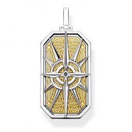 Thomas Sabo PE868-849-7 Pendant Compass Star gold-coloured