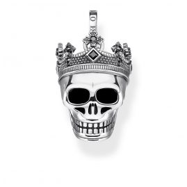 Thomas Sabo PE871-643-11 Pendant Death's Head with Crown