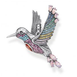 Thomas Sabo PE875-342-7 Pendant Colourful Hummingbird Silver