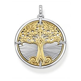 Thomas Sabo PE885-966-39 Pendant Tree of Love gold tone