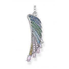 Thomas Sabo PE876-347-7 Pendant Colourful Hummingbird Wing Silver