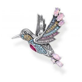 Thomas Sabo PE905-342-7 Pendant Colourful Hummingbird Silver