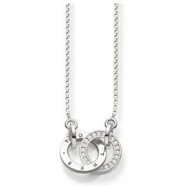 Thomas Sabo D_KE0005-725-14 Diamant-Halskette Together Forever