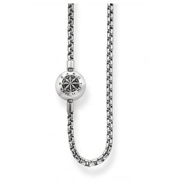 Thomas Sabo KK0002-001-12 Necklace blackened for Karma Beads